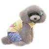 Kutyaruha:csinos, csíkos pamut kutyatrikó nyári estékre