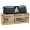 Kyocera TK140 Lézertoner FS 1100 nyomtatóhoz, KYOCERA fekete, 4k