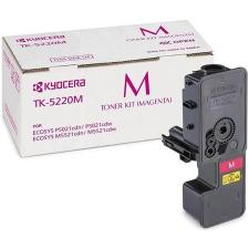 Kyocera TK5220M Lézertoner P5021cdn, P5021cdw, M5521cdn, M5521cdw nyomtatókhoz, KYOCERA vörös 1,2k nyomtatópatron & toner