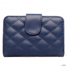 L1517 - Miss Lulu London Quilted pénztárca Navy