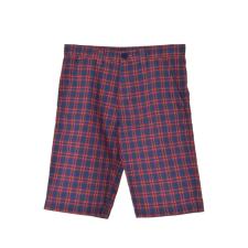 Lacoste fiú Rövidnadrág - Kockás #sötétkék-piros gyerek nadrág