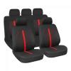 """Lampa """"Stinger"""" 9db-os üléshuzat szett - Légzsákos / Osztható - Fekete-Piros"""