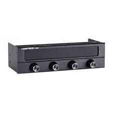 Lamptron FC5 V2 Ventilátorvezérlő Fekete modding