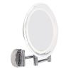 Lanaform Lanaform Wall mirror LEd megvilágított egy oldalas fali kozmetikai smink tükör 10x 15cm elemes