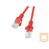 Lanberg Patchcord RJ45 cat. 5e UTP 1m red