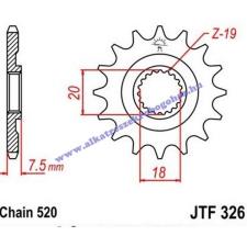 Lánckerék első JTF326 520 14 fogas lánc, láncszett