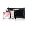 Lancome La Vie Est Belle női parfüm Set (Ajándék szett) (eau de parfum) Edp 50ml + Bl 50ml + 2ml Szempillaspirál + Kozmetikai táska