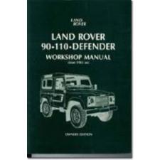 Land Rover 90/110 Defender Workshop Manual 1983 on idegen nyelvű könyv