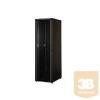 """Lande LN-CS42U8010-BL CS 42U 800x1000 Álló szerver rack szekrény 19"""" (nem lapra szerelhető) RAL9005 fekete"""