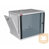 """Lande LN-EUBOX12U5445-LG-1 EURObox 12U 540x450 fali rack szekrény 19"""" RAL7035 szürke"""