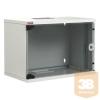 """Lande LN-SH09U5440-LG-F0 NETbox SOHO 9U 540x400 fali rack szekrény lapra szerelt 19"""" RAL7035 szürke"""