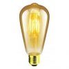 Landlite RUB-ST64-4W FLT E27, 1700K, LED lamp