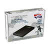 LC POWER lc-25u3-becrux fekete merevlemez ház