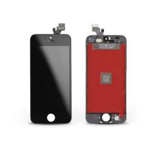 LCD kijelző érintőpanellel - Apple iPhone 5 - AAA kiváló minőségű, utángyártott - fekete mobiltelefon, tablet alkatrész