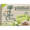 Le Petit Olivier Peeling szappan - Olíva 2×100 g