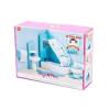 Le Toy Van : Fürdőszoba fa bababútor készlet