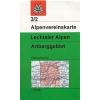 Lechtaler Alpen, Arlberggebiet turistatérkép - Alpenvereinskarte 3/2