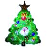 LED-es ablakdísz, karácsonyfa, 20cm, 4,5V