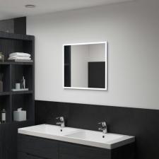 LED-es fürdőszobai falitükör 60 x 50 cm bútor