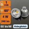 LED lámpa MR16-GU5.3 (4W/60°) Szpotlámpa - hideg fehér