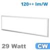 LED panel (1200 x 300 mm) 29 Watt - hideg fehér (3600 lm)
