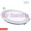 LED panel 18 W ( kör) tápegységgel