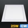 LED panel (300x300 mm) 25 Watt (négyzet) hideg fehér, sülly.
