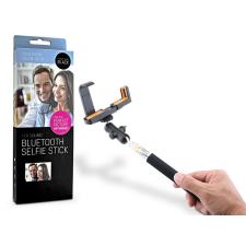 LED SOUND Selfie Holder bluetoothos szelfi bot exponáló gombbal - 20 db/csomag - fekete tok és táska