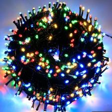 Ledfillér Napelemes 200 LED-es színes karácsonyi fényfüzér, kerti égősor karácsonyi dekoráció