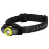 Ledlenser MH3 outdoor LED fejlámpa 200lm 1xAA (fekete/sárga)