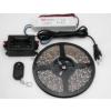 LEDMASTER 3528UCW-300-12VWF / 5 méter vízálló LED szalag tápegységgel és fényerõszabályzóval