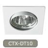 LEDvonal Beépíthető spot lámpatest , Navi , CTX-DT10 , fehér , billenthető