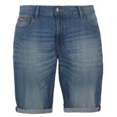 Lee Cooper férfi rövidnadrág - Lee Cooper Regular Denim Shorts Mens Light Wash