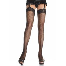 Leg Avenue Fishnet Thigh Highs Black XL harisnyatartó
