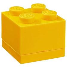 LEGO 2x2 mini tárolódoboz sárga (40111732) lego