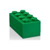 LEGO ® 2x4 mini tárolódoboz sötétzöld 46x92x43mm