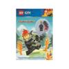 Lego Csoport Lego City - Lánglovagok - Minifigura, feladvány, képregény