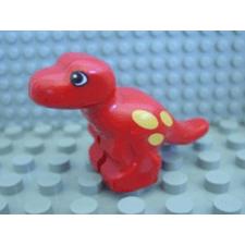LEGO duplo t-rex bébi piros lego