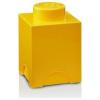 LEGO LEGO 1x1 tárolódoboz - sárga (40011732)