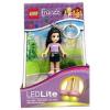 LEGO LGL-KE22E-LEGO Kulcstartó-Emma világító kulcstartó