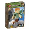LEGO Minecraft BigFig Alex csirkével 21149