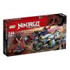 LEGO Ninjago A Jaguárkígyó utcai verseny 70639
