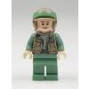 LEGO Rebel Kommandós minifigura sötétbarna mellényben