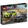 LEGO Speed Champions Lamborghini Urus ST-X and Lamborghini Huracán Super Trofeo EVO (76899)