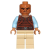 LEGO sw487 - LEGO Star Wars Weequay Skiff őr minifigura