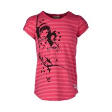LEGO TANISHA307-458-140 - LEGO Wear Friends Tanisha 307 lány pink csíkos flitteres t-shirt 140-es méretben