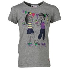LEGO THEODORA303-915-116 - LEGO Wear Friends Theodora 303 lány szürke t-shirt 116-os méretben
