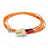 Legrand 033075 patch kábel optika OM2 (UPS) multimódusú SC/LC duplex 50/125um LSZH (LSOH) narancs 1 méter LCS3