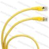 Legrand 051780 patch kábel RJ45-RJ45 Cat.6A árnyékolt (S/FTP) PVC 1 méter sárga d: 6,2mm AWG27 LCS3