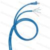 Legrand 051797 konszolidációs patch kábel RJ45-AWG Cat.6 árnyékolt (F/UTP) AWG24 LSZH (LSOH) kék d: 6 mm 15 méter LCS3